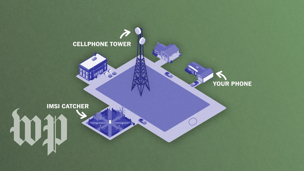 How StingRay cellphone surveillance devices work