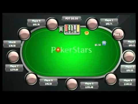 Losing on river ||| Online Poker Highlights