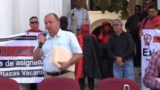 STAUS y STEUS sollicitan audiencia a la Gobernadora y al Congreso del Estado