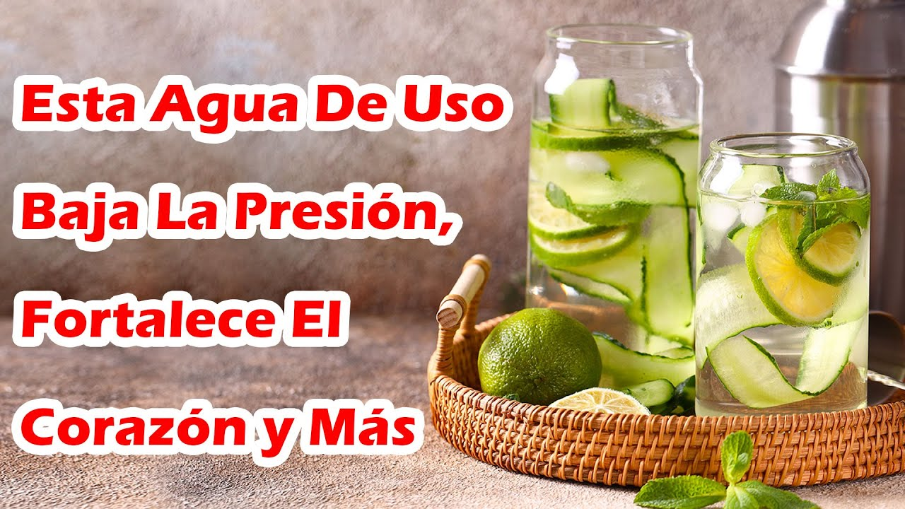 Beneficios Del Agua De Pepino Que Te Harán Querer Tomarla Todos Los Días