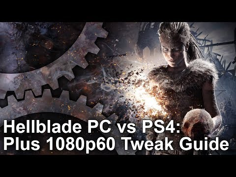 Hellblade PC vs PS4/Pro: Graphics Comparison + 1080p60 Setti