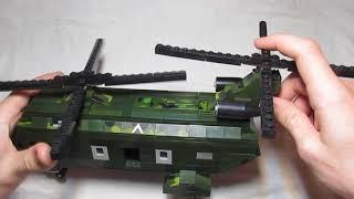 Военная самоделка наподобие американского вертолёта CH-47 Chinook. LEGO ARMY #6.