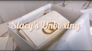 [Unboxing] Dior White Caro Bag…