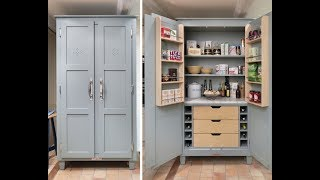 Gambar cover Kitchen Pantry Cabinet Freestanding