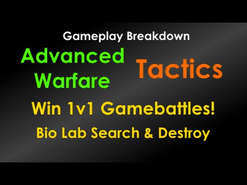 Win 1v1 Gamebattles! | AW GBs SnD Tips & Tricks! Competitive Advanced Warfare Search And Destroy S&D