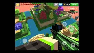 Pixel Gun 3D- Trickshot Tutorial #1