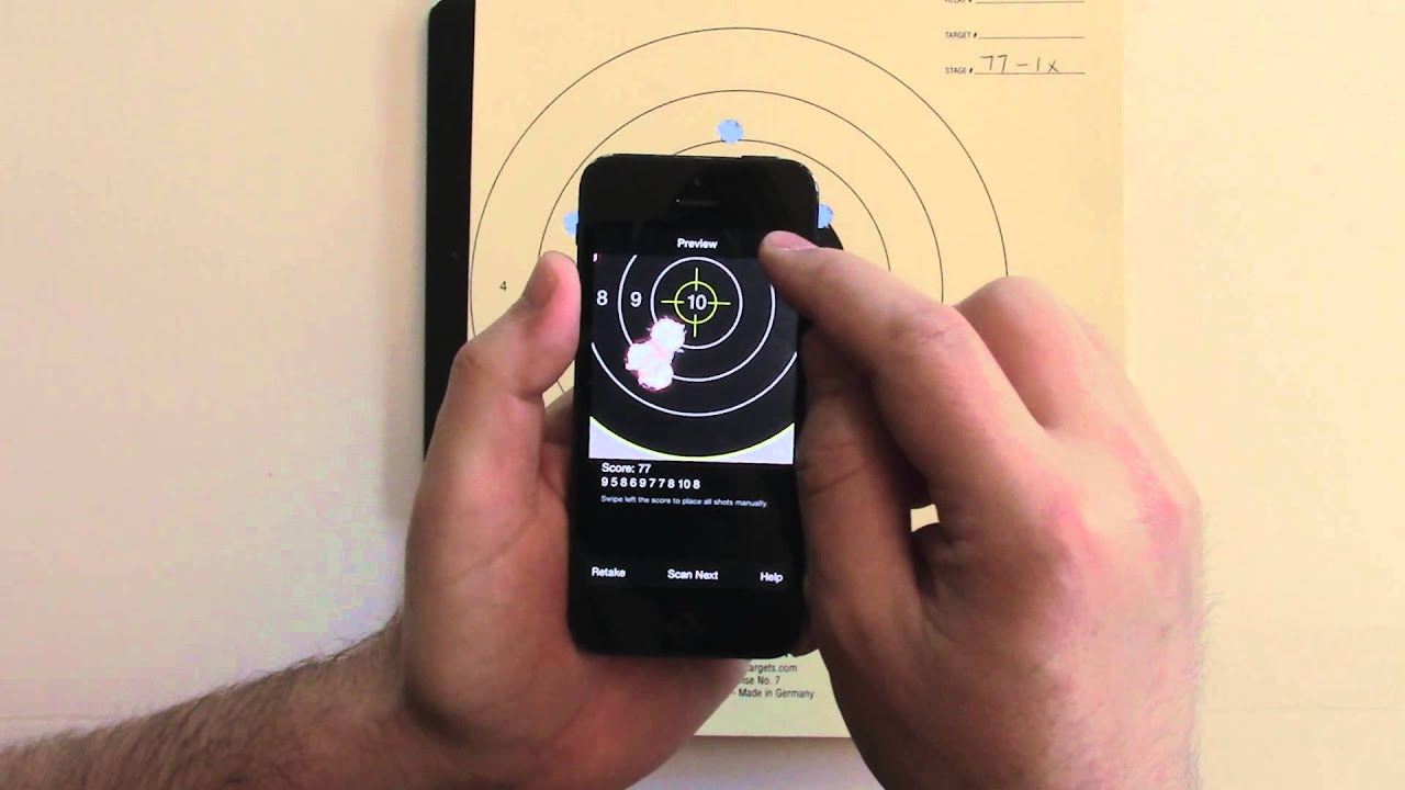 targetscan app for ios scoring paper targets youtube