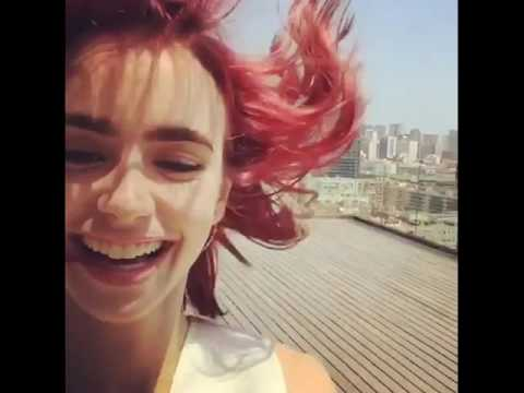 Real Life with Beautiful LILY COLLINS
