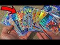 PULLED 64 ULTRA RARES FROM A BOOSTER BOX! Fake Pokemon Card Opening