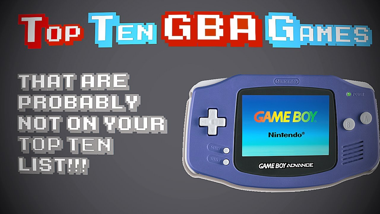 Game boy color list - Top Ten Game Boy Advance Games That Are Probably Not On Your Top Ten List Gba Hidden Gems Youtube