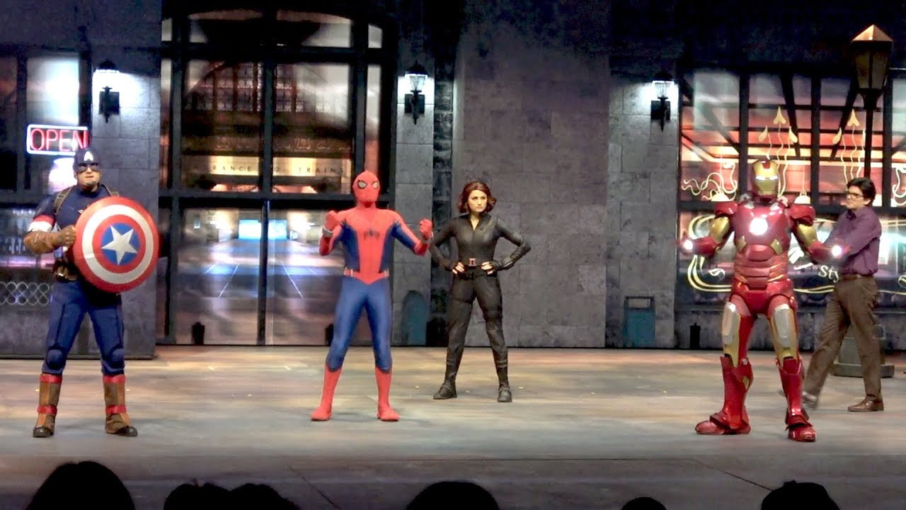 Marvel Super Heroes United FULL Stunt Show at Disneyland Paris Summer of Super Heroes