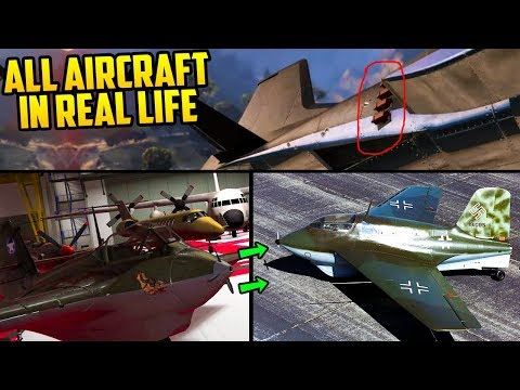 "All ""Smuggler's Run"" DLC Planes & Vehicles & What They Are Based Off of in Real Life!"