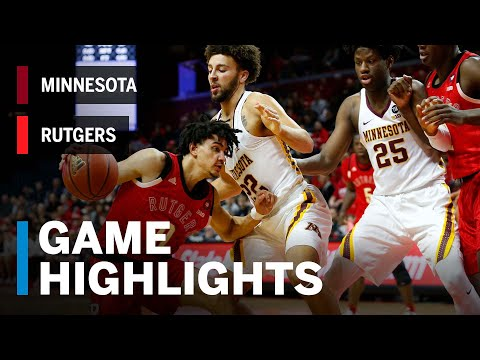 Highlights: Mathis, Baker Shine in Scarlet Knight Win | Minnesota vs. Rutgers | Feb. 24, 2019