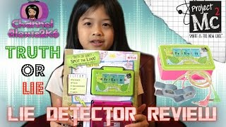 Project Mc² | Lie Detector Toy Review!! | TRUTH OR LIE!! | (Ep.29)