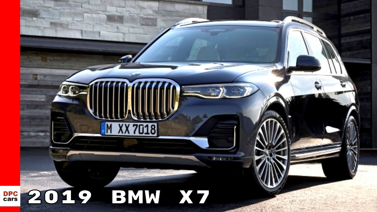 2019 Bmw X7 Suv Youtube