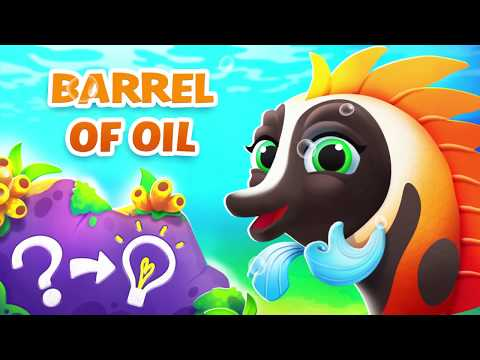 Fishdom - Barrel of Oil