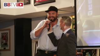 TYSON FURY RECEIVES GREAT FANS RECEPTION TALKS COMEBACK