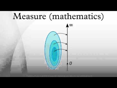 Measure (mathematics)
