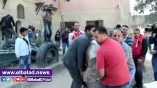 بالفيديو.. الطيبي: راعينا الدقة في صنع تمثال 'رمسيس الثاني' لأنه واجهة مصر في الإكوادور
