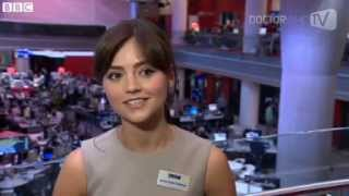 Jenna-Louise Coleman on Matt's Exit, 12th Doctor (BBC News June 7 2013)