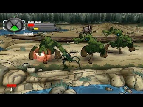 Игра Бен Тен Защитник Земли Ben 10 Protector of Earth part 9