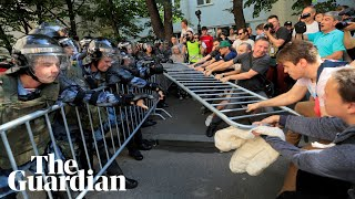 Moscow police detain hundreds over election protests