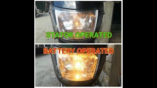 ADVANTAGE of BATTERY OPERATED HEADLIGHT