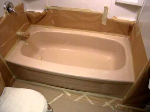 Bathtub Refinishing Part 1 of 3 - YouTube