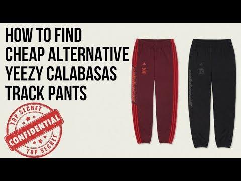 Cheap Alternative Yeezy Calabasas Track Pants