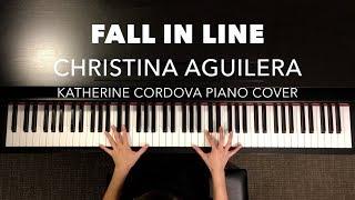 Baixar Christina Aguilera - Fall In Line ft. Demi Lovato (HQ piano cover)