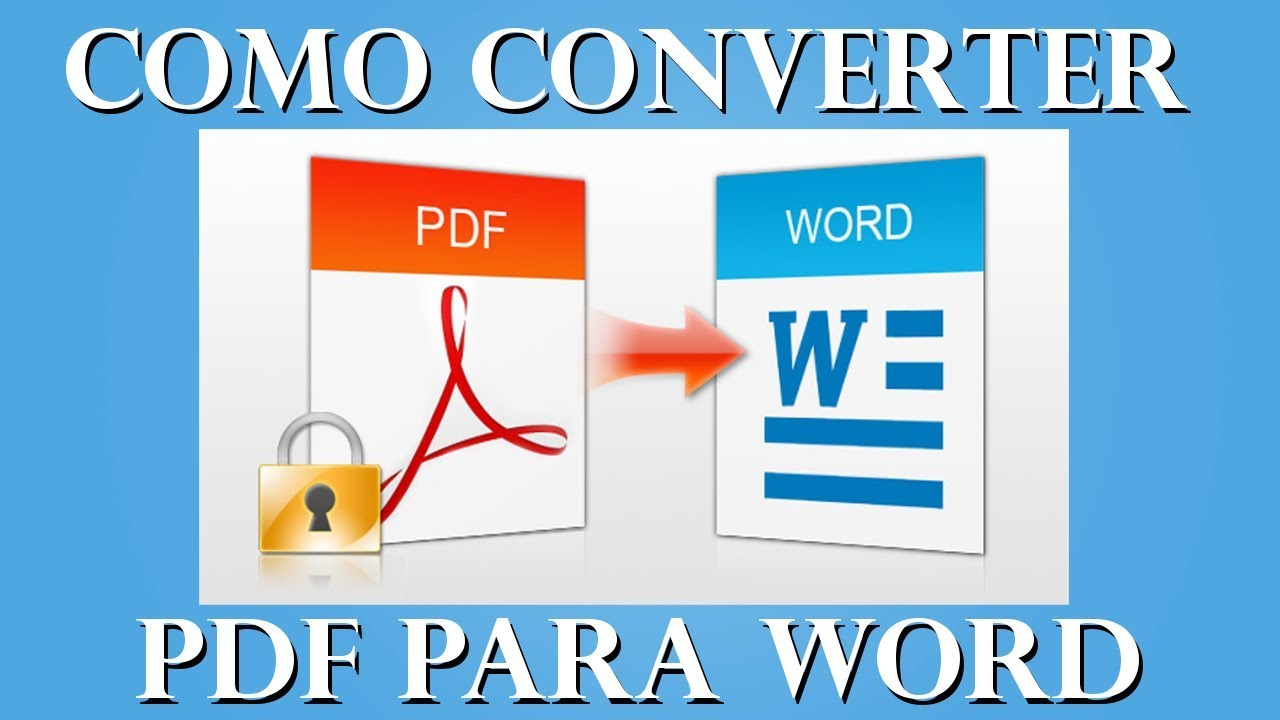 Converting Word to PDF