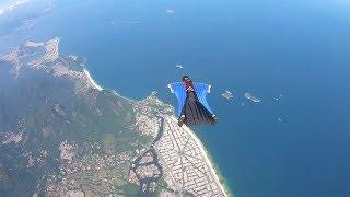 Wingsuit Above Rio De Janeiro