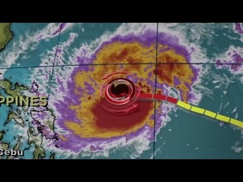 Historic typhoon hits Philippines