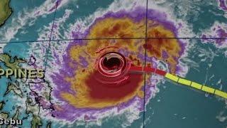 Historic typhoon hits Philippines