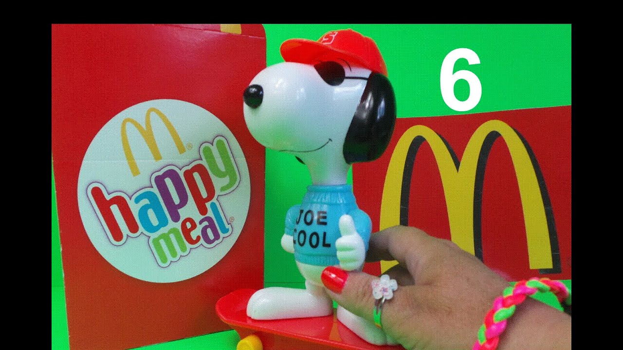 Image result for Happy meal Snoopy 2000