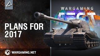 World of Tanks - WG Fest: Planos para 2017