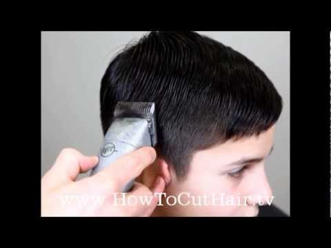 Tapered Haircut How To Blend Hair With Clippers Youtube
