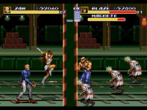 Let's Play Streets of Rage 3 with ScottishDuck17 (Part 5) -- Zan IS Cole MacGrath