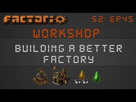 DaemosDean's Beaconed Oil Build:: Factorio Workshop Season 2 - Building A Better Factory