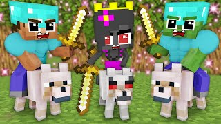 MONSTER SCHOOL : BABY HEROBRINE GIRL LIFE - FUNNY MINECRAFT ANIMATION