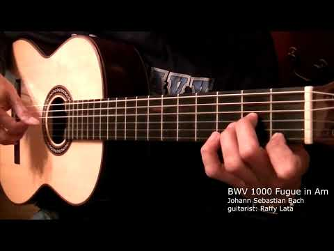 BWV 1000 Fugue in Am - J.S. Bach