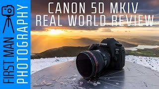 Canon 5D Mark IV Review - Huge Real World Camera Test