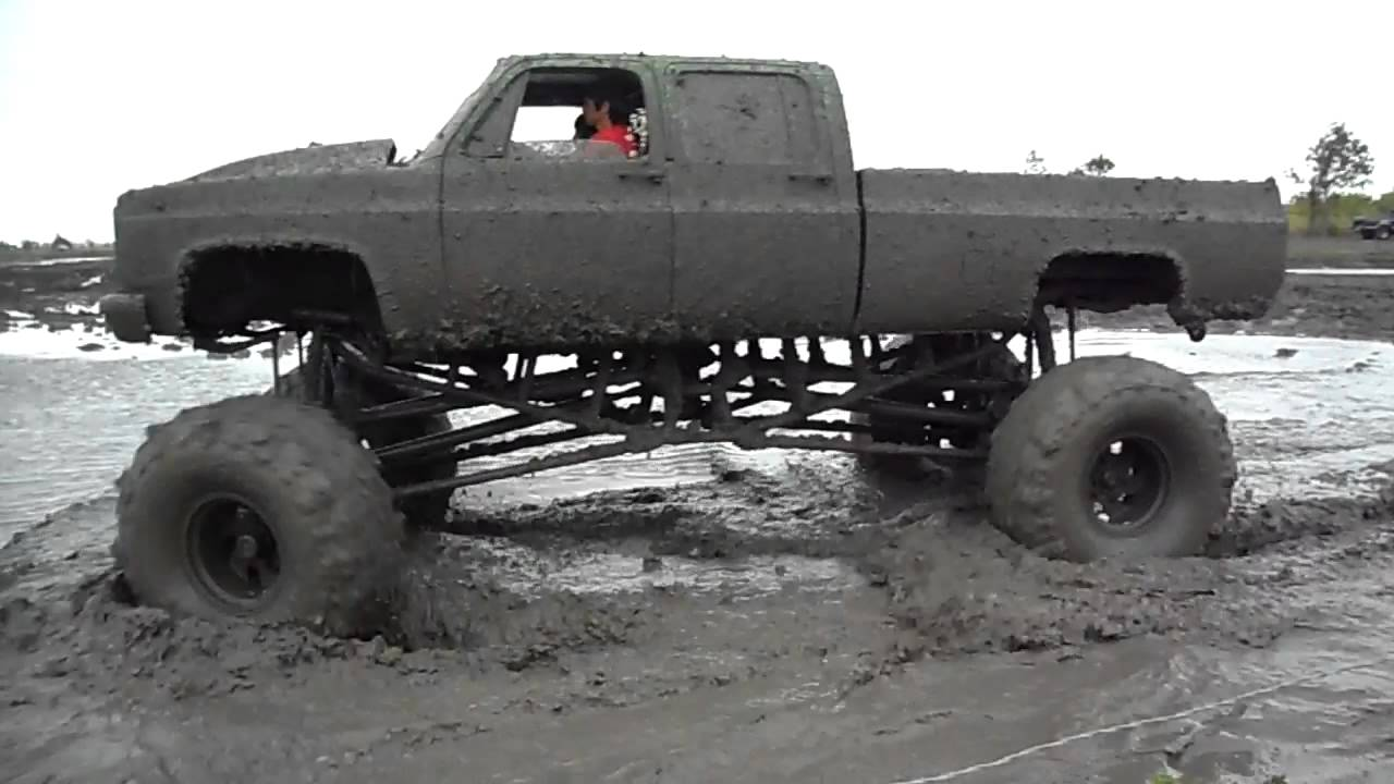 "All Out Offroad >> BBC with 2.5ton rockwell axles & 54"" boggers - YouTube"