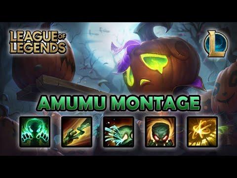 AMUMU MONTAGE - Best One Shot   Pumpkin Prince Amumu Skin   League of Legends