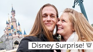 Surprise train trip to Disneyland Paris! - Disneyland Vlogger