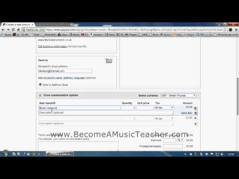 Become A Music Teacher guide to online music lessons and taking payments