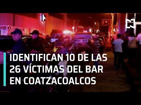Identifican 10 de los 26 cuerpos de víctimas del bar 'El Caballo Blanco' - Las Noticias