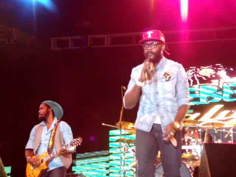 Rebel Salute 2012 Tarrus Riley - Never Leave I