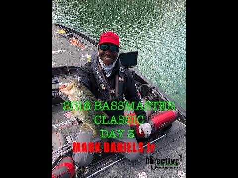 Mark Daniels Jr | Day 3 | 2018 Bassmaster Classic
