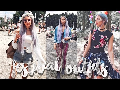 Lookbook  Festival Outfits at Latitude 2016